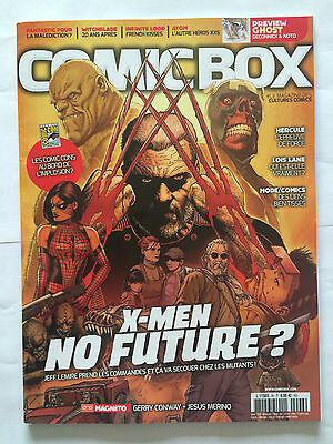 Comic Box Magazine N°96 Septembre Octobre 2015 Jamais Lu