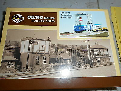 Ratio Oo Scale 546 Container Traversing Crane