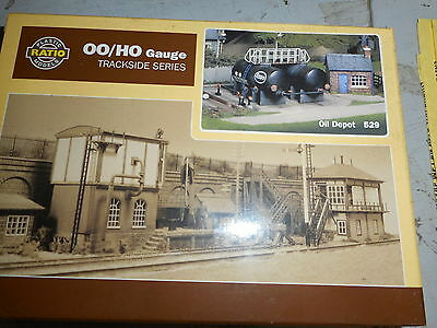 Ratio Oo Scale 529 Oil Depot