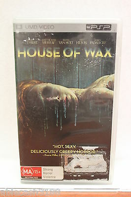 House Of Wax Umd Movie Sony Psp Excellent Condition