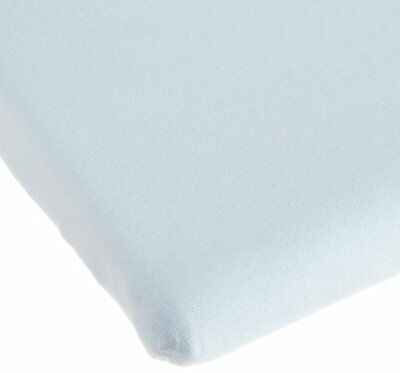 Carters Easy Fit Jersey Portable Crib Fitted Sheet - Blue