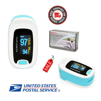 USA SHIPPING,CMS50N adult Pulse Oximeter Finger Pulse Blood Oxygen,oled diaplay