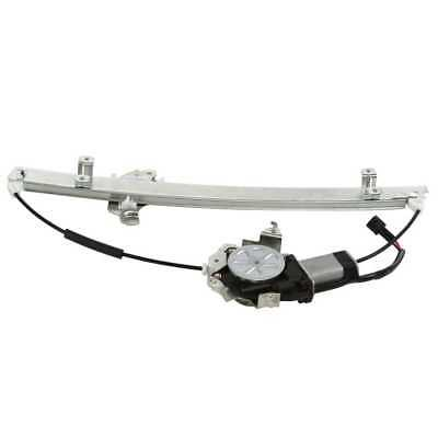New Front Drivers Side Power Window Regulator with Motor With Lifetime Warranty