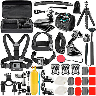 50 in 1 Action Camera Accessory Kit for GoPro Hero 4 1 2 3 3+  SJ4000 5000 6000