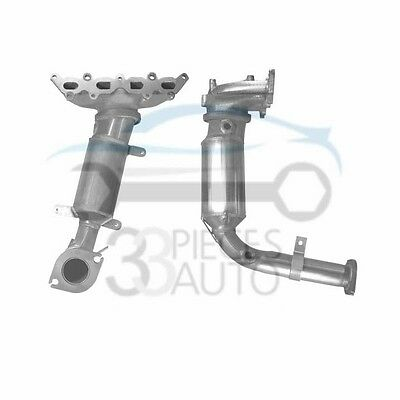 Pot Catalytique FIAT PUNTO 1.2i 16v 7/99-12/06 (catalyseur/collecteur)
