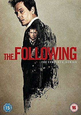 The Following - Season Series 1, 2 & 3 DVD Box Set R4 New Sealed