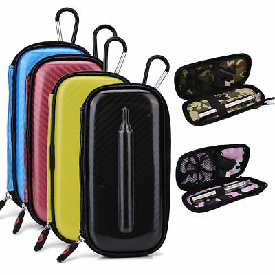 Hardshell Case for Pen Style Battery with Net Pocket and 3 Elastic Loops