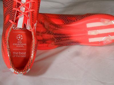 63416aa60 New Mens Adidas F50 Adizero UEFA Champions League Edition FG Soccer Cleats  Boots