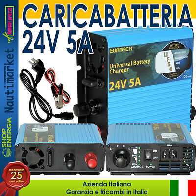 EurTeck Caricabatteria 24V 5A carica batterie Battery charger #21020872