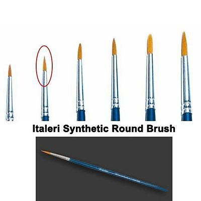 Italeri Model Tool - 2 Brush Synthetic Round - A51205 - New