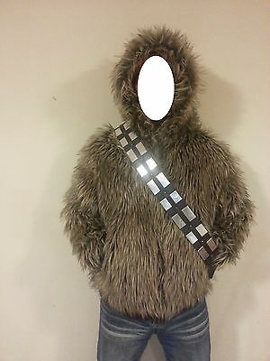 Marc Ecko Star Wars Chewbacca Reversible WARM Winter Coat *Small*