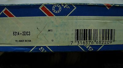 SKF / FAG - 70 x 150 x 35 SHIELDED DEEP GROOVE ROLLER BEARING 6314-2Z/C3 *NOS*