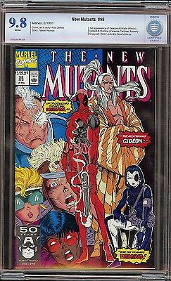 New Mutants # 98 CBCS 9.8 White 1st appearance of Wade Wilson Deadpool