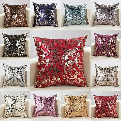 Hot New Cashmere Cushion Decor Decal Cover Pillow Case Home Bed Sofa 2 Sizes Hot