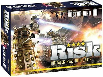 Risk: Doctor Who The Dalek invasion Of Earth - Science Fiction Board Game New