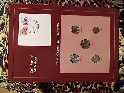 Coin Sets of All Nations Pakistan 1985 - 1986 UNC 5 Paisa 1985