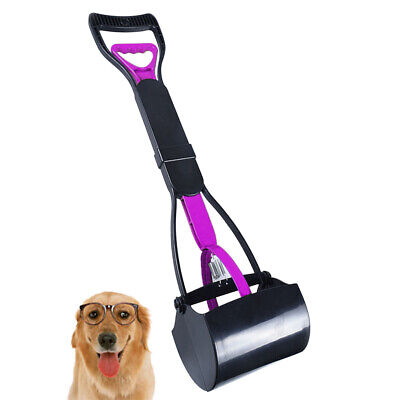 Pet Dog Waste Easy Clean Pickup Pooper Scooper Poo Remover Grab Colour Surprise