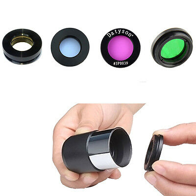 "4pcs 1.25"" Planet Nebula Filter for Astronomical Telescope Adapter T Mount Fast"