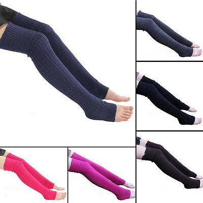 Gifts Fashion Winter Leg Warmers Women Ladies Sockings Long Tigh Socks Cashmere