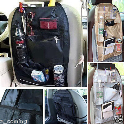 Baby Car Auto Care Seat Cover Storage Bag Pouch For Children Kick Mat Mud Large