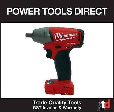 New Milwaukee 18V Fuel Cordless M18Fiwf12-0 Impact Wrench (Generation Ii) Skin