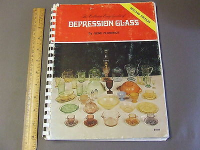 Antique Collectors Reference Book Encyclopedia Of Depression Glass 2Nd Florence