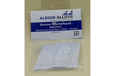 FLEX-I-FILE ALBION FF357 Micro Brush Superfine White (25p)