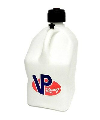 VP Racing Fuel Jug 2000WH 5 Gal. Square Motorsports Utility Can White Plastic