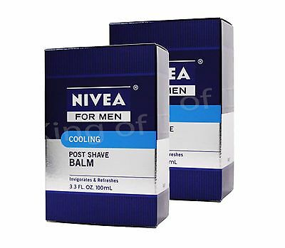 Nivea For Men Cooling 3.3-ounce Post Shave Balm - Dam -