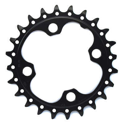 Shimano SLX FC- M675 24 Tooth Chainring 2x10 speed Type AM (38-24) 64mm BCD