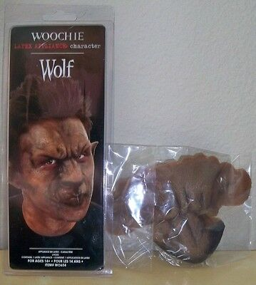 Werewolf Wolf Nose & Forehead Prosthetic Costume Cswo654