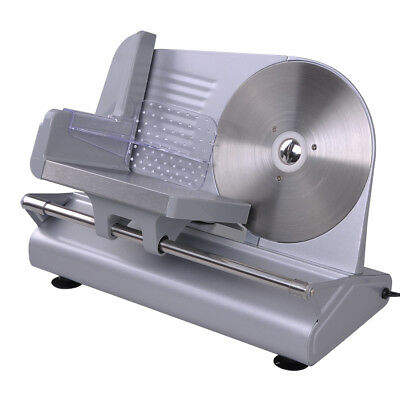 "8.5"" Blade 150W Electric Meat Slicer Deli Food Cutter Commercial Home Kitchen CE"