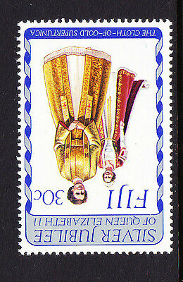FIJI 1977 30c JUBILEE WITH INVERTED WATERMARK SG 538w MNH.