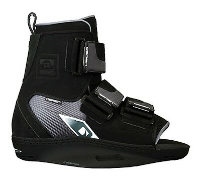 O'BRIEN PLAN B Wakeboard Bindings, UK 3 to 13, Black. 42787