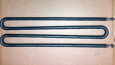 "Indeeco Immersion Heating Element 16"" x 4 = 64"" Incoloy 800 1600° 2200w 120v"