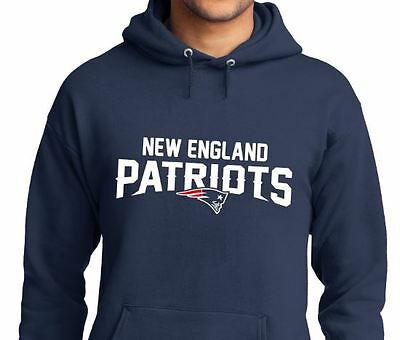 New England Patriots Hoodie Hooded Sweatshirt Men's and Youth Sizes Small - 4XL