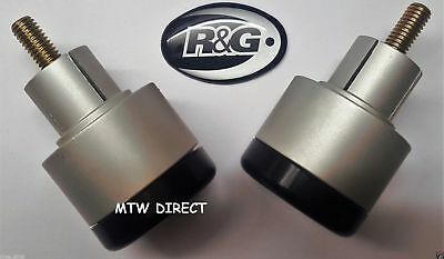 R&G Racing One Pair Bar End Sliders Triumph Speed Triple 2008