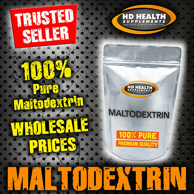 6Kg Pure Maltodextrin Powder   Post Workout Mass Gainer Quality Carbohydrate