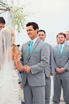 Custom Made Mens Wedding Suits Business Suits Groom Tuxedos Best Man Suits