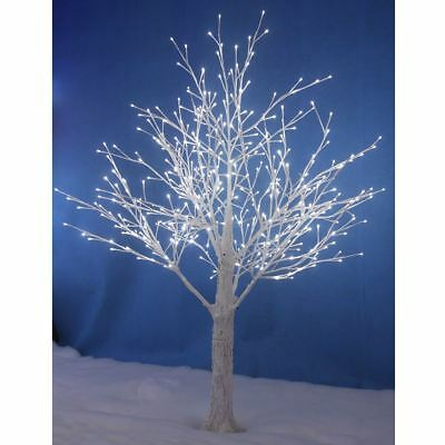 White Snowy Twig Tree White LED Lights Xmas Indoor Outdoor Garden Decoration