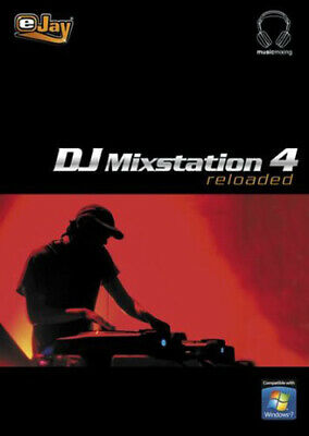 eJay DJ Mixstation 4 reloaded ESD Download Windows