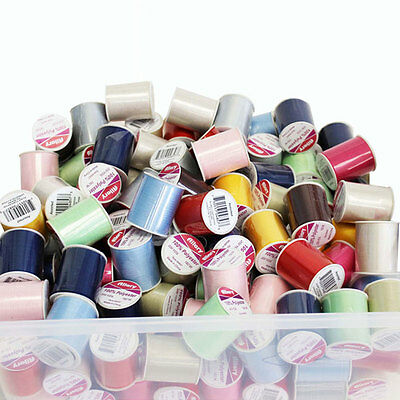 24 Pack  Assorted Colors Allary 100% Polyester Threads 200 Yds Sewing Threads