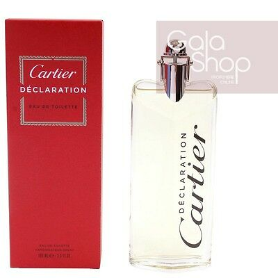Cartier Declaration Eau De Toilette 100Ml Profumo Uomo Edt Homme Men Him