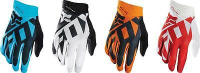 2016 Fox Racing Airline Shiv Gloves - Motocross Dirtbike MX ATV Mens Riding Gear