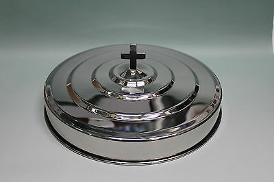 Silvertone--- Stainless Steel Communion Tray Cover