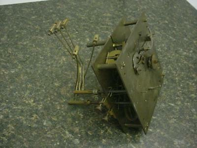 Rare German made Haller & Benzing H&B Brass Westminster Clock Movement  D310