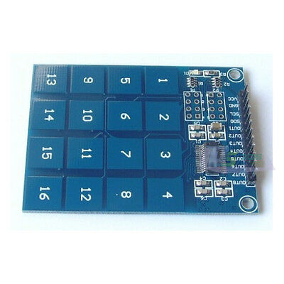 TTP229 16-Channel Digital Touch Sensor Module Capacitive Switch Keypad Button