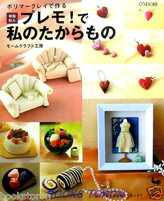My Treasure with Polymerclay /Japanese Handmade Clay Craft Book