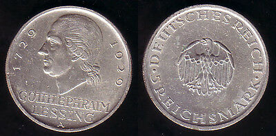 5 RM 1929 Lessing A