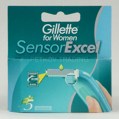 25x Gillette Sensor Excel for Women Rasierklingen NEU